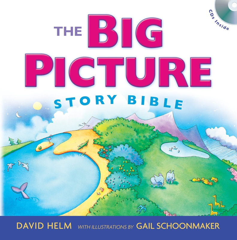 The Big Picture Story Bible   Pages 15 49. Visual Aid: Black Pompoms On  Heart